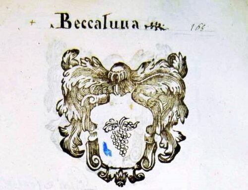 La famiglia Beccaluva (Rione Nero): fedeli notai al fianco della signoria Manfredi
